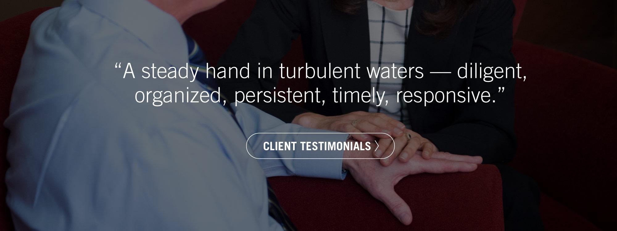 McManus & Associates - Client Testimonials