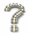 money question mark