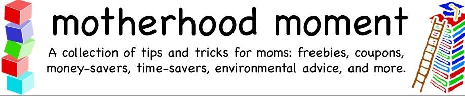 motherhood moment
