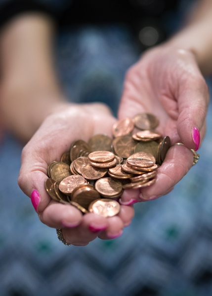 pennies photo